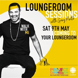 Walk With Me – Loungeroom Sessions with Gary Pinto, Caritas Australia